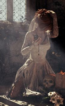 Hallowe'en's Bride by Saidge42
