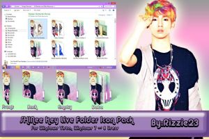 SHINee Key Live Folder Icon Pack by Rizzie23