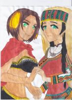 Nyotalia love by MiddleEastAPH