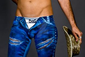 Blue Jeans by Bentley-Bodyart