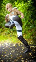 SNK - Annie Leonhardt [High Kick] by itsL0KI