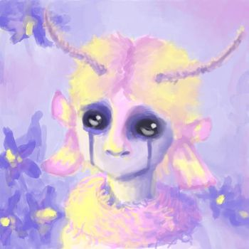 Moth Fairy by MuseOfMelancholy