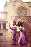 Clopin and Esmeralda cosplay - 1 by XiXiXion