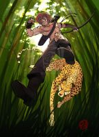 COMISSION -jungle by tigger-comissions