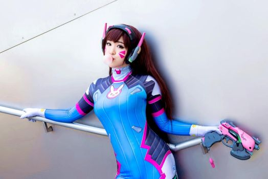Overwatch D.Va Cosplay by CosplayProdigy by CosplayProdigy