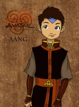Fire Nation Aang by suzannedcapleton