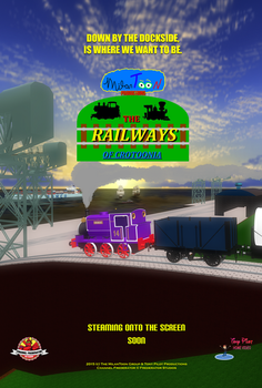 The Railways of Crotoonia: Official Poster #8 by TheMilanTooner