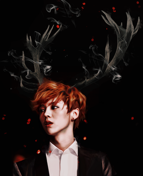 Luhan -  NightSpirit by bubble-min