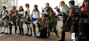 DA Group 2 - MCM Expo, Oct '11 by hollysocks