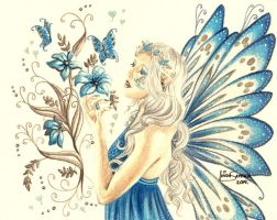 Blue Faerie by Artsy50