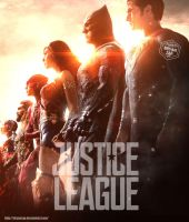 Justice League Poster by Bryanzap
