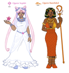 Queens of the Ra System by ErinPtah