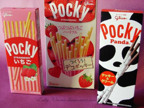 Pocky,we love it! by LadyxWinter