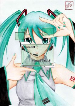 Vocaloid Hatsune Miku by acidproject