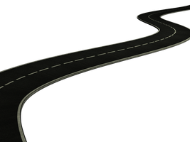 road PNG stock by DoloresMinette