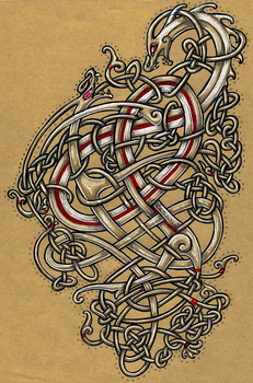 Viking Knotwork by Lariethene