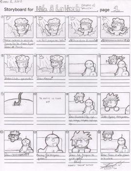 Storyboard - VALV 12, 1-2 by darkarcompany