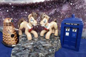 Double Doctor Whooves by DeadHeartMare