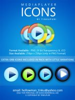 WINDOWS MEDIA PLAYER ICONS by tinkupuri
