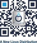 Mageia QR Code by blogdrakeart