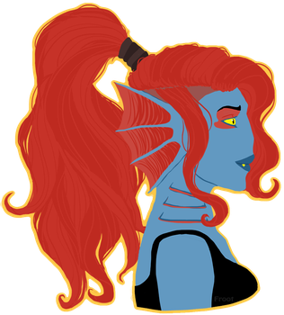 Undyne by FrOoTcAkE