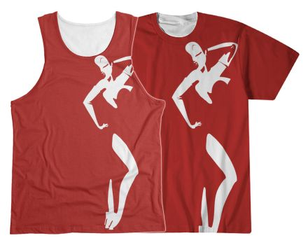Jessica Rabbit - Sublimation Tee/Tank by queeroid