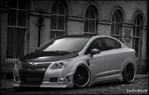Toyota Avensis by inferno-87