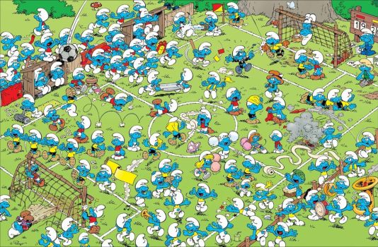 The Smurfs: 2014 World Cup by Smurf12334