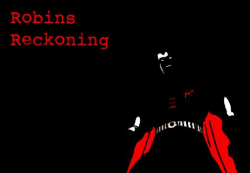 033 Robins Reckoning Poster by El-Fox