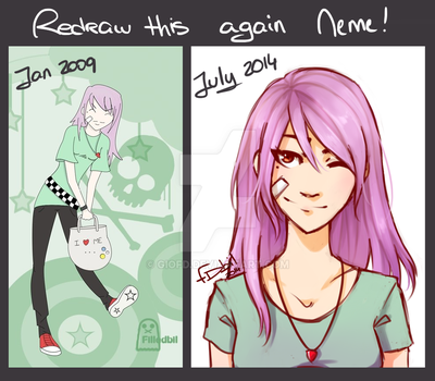 Redraw this again Meme by GioFD