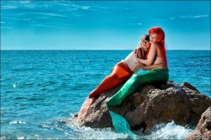 Ariel and Melody by Biseuse