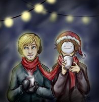 Christmas Lights by CherryStarwberry7
