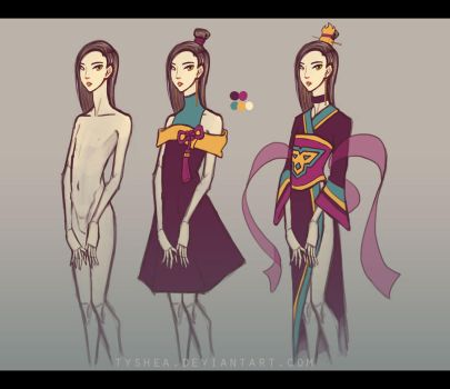 A:CtS Character Study [SIKA] by Dyemelikeasunset