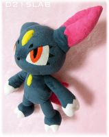Sneasel plush(small) by d215lab