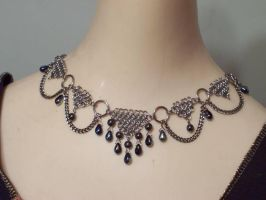 'Celina' Circlet in maille by hwkwlf
