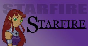 Starfire portrait by TheNumberD
