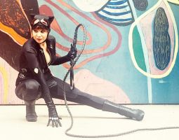 Catwoman in Arkham City costume by hollymessinger