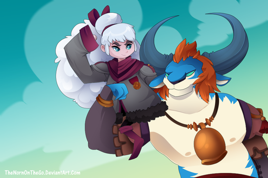 Patreon Reward: Aisling and Lord Knossos by TheNornOnTheGo