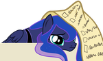 Luna is tired by ASKometa