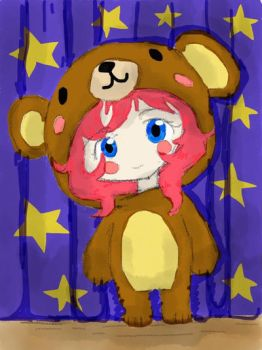 Chibi teddy-girl FINISHED! by MinnieLOL14
