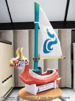 Papercraft Zelda King of Red Lions boat by ninjatoespapercraft