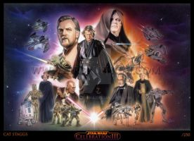 Star Wars: Revenge Of The Sith by gattadonna