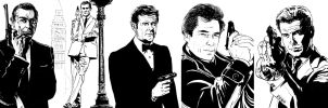 James Bond collection by admat