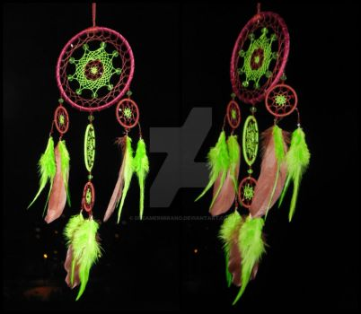 Dreamcatcher  ~Color therapy for sweet dream~ by DreamerMirano