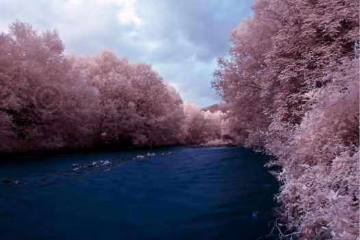 Cugir River IR by andreimogan