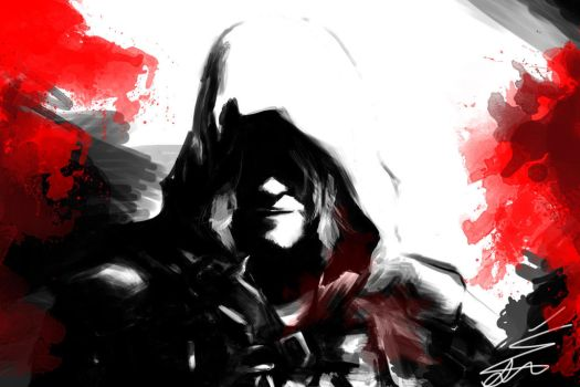 Assassin's Creed IV: It's in our Blood by AryaMay