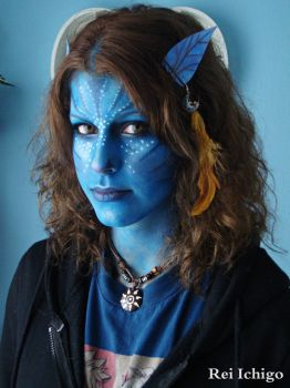 Avatar Make Up Look by ReiIchi5